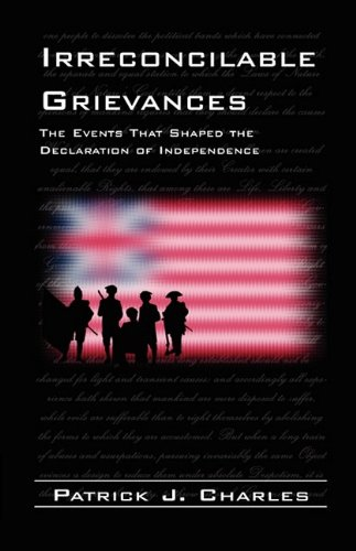 Irreconcilable Grievances: The Events That Shaped the Declaration of Independence