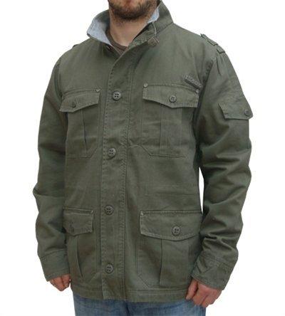 Giacca Parka, modello: Kiel Verde militare Small