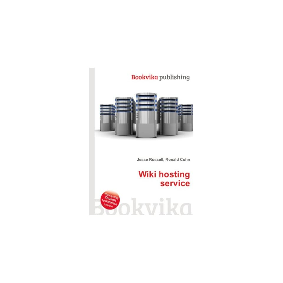 Wiki hosting service Ronald Cohn Jesse Russell Books