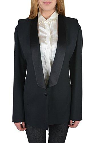 maison-martin-margiela-womens-100-virgin-wool-black-tuxedo-style-blazer-us-m-it-42