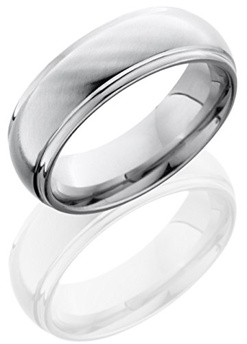 Lashbrook Cc7Dge Cross Satin Finish Wedding Band - Cobalt Chrome