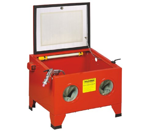 Sandblaster Cabinet for Glass Beads, Sillica Sand, Alum Oxide, 100 PSI Maximum Shot Blaster Sandblastering