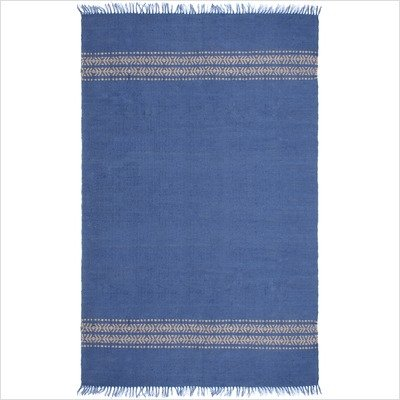 St. Croix Trading Jute Area Rug, Blue