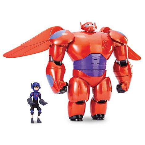 Figurine de luxe articulée Flying Baymax Mech