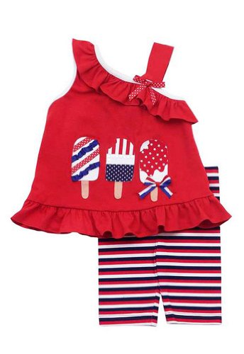 Patriotic Baby Clothes front-348198