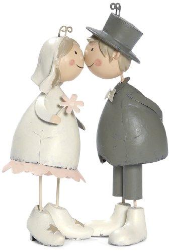 BIS 6508 Tortenfiguren, Knutschis Brautpaar verträumt
