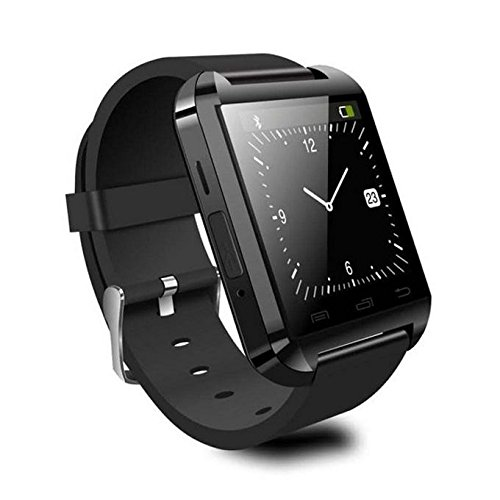 Geekbuying U8 Bluetooth Smart Watch Perfect Fit For Android Smartphone Galaxy S5/S4/S3 Note3/Note2, Htc, Motorola, Lg - Only Basic Function For Iphone 5S/5C/5/4S/4 + Geekbuying Nfc Tags Sticker