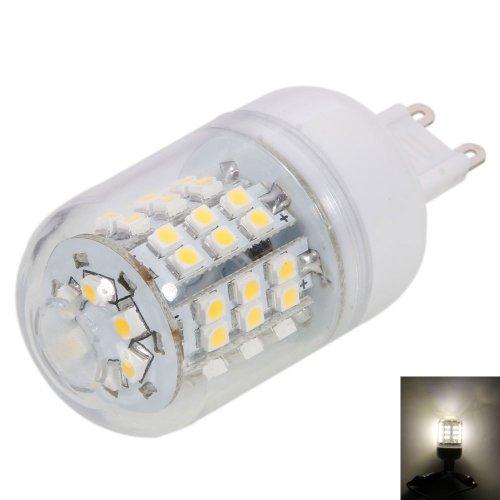 G9 110V 3W 3000K~3500K Warm White Energy Saving Led Light Corn Light Bulb With Cover