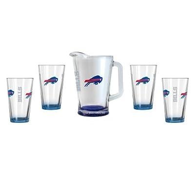 NFL Bills - Elite Pint (4) & Pitcher Set (1)   Buffalo Bills Beer Pitcher Gift Set