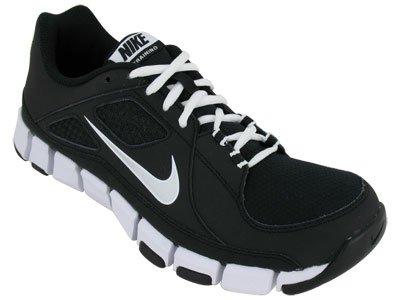 154479626881 Nike Men s NIKE FLEX SHOW TR TRAINING SHOES 10 (BLACK METALLIC SILVER WHITE