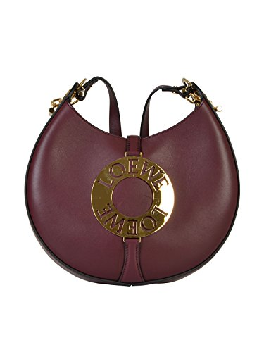 loewe-womens-32607p127577-burgundy-leather-shoulder-bag