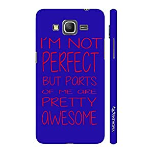 Enthopia Designer Hardshell Case I'm Not Perfect Back Cover for Samsung Galaxy J7