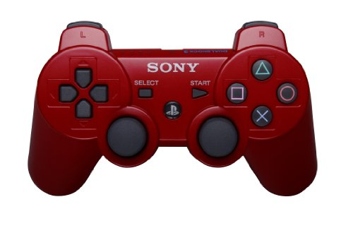 Playstation 3 Dualshock 3 Wireless Controller (Red) front-915530