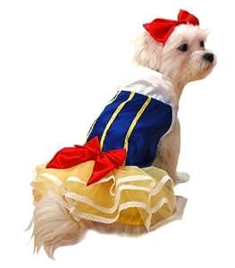 Anit Accessories Snow Princess Dog Costume, 20-Inch