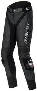 Joe Rocket Speedmaster 5.0 Men's Leather Motorcycle Pants (Black, Size 42)