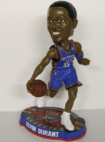 Kevin Durant (BLUE JERSEY) Oklahoma City Thunder 2012 NBA Forever Collectibles Bobble Head