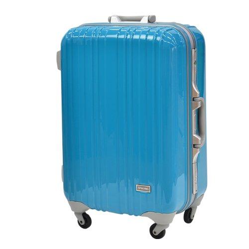 スポルディング スーツケース ハードケース TSAロック搭載 SP-0614 73cm (ブルー)