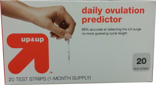 Up & Up Daily Ovulation Predictor, 20 Test Strips (1 Month Supply) - 1