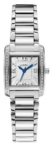 Roamer Swiss Elegance Women's Quartz Watch with Silver Dial Analogue Display and Silver Stainless Steel Bracelet 507845 45 13 50