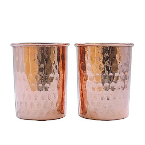 Set of 2 with lid traveller s copper mug ayurveda health benefit
