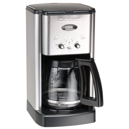 Factory-Reconditioned Cuisinart DCC-1200FR Brew Central 12-Cup Coffeemaker, Brushed Stainless Steel