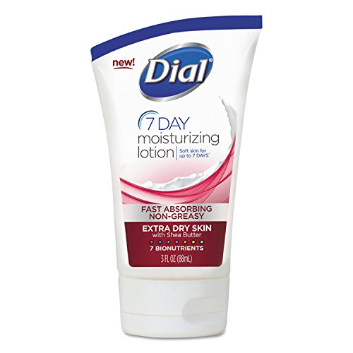 Dial Nutriskin Replenishing Lotion Extra Dry, 3-Ounce (Pack of 6) - 1