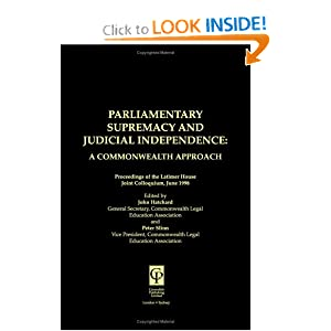 Parliamentary Supremacy | RM.