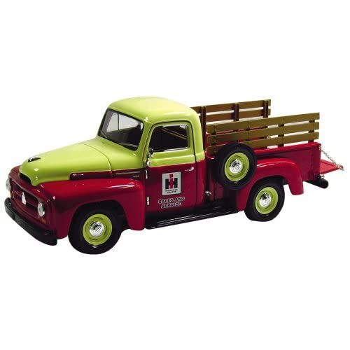 Scale 1954 International Pickup Replica with Sideboards and Seed Sacks
