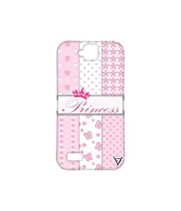 Vogueshell Princess Pattern Printed Symmetry PRO Series Hard Back Case for Huawei Honor Holly