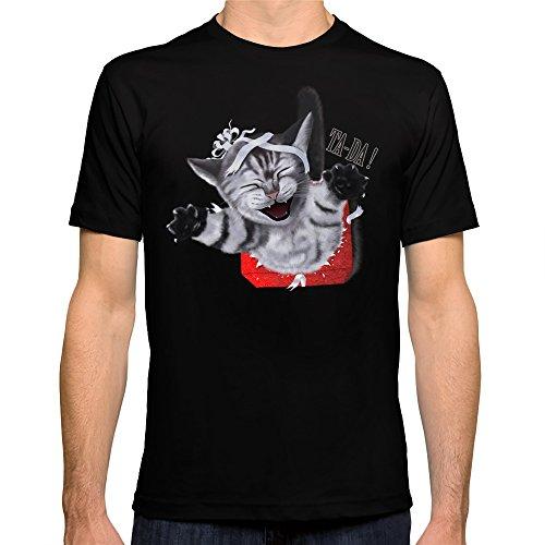Society6 Men'S Ta-Da T-Shirt X-Large Black