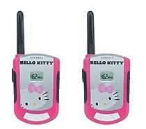 Hello Kitty 63309 2 Piece Set FRS Walkie Talkie, Pink