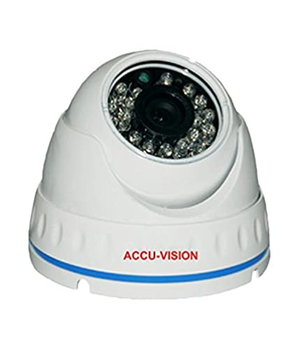 Accu Vision UC-HDIS75-IRT Economic Indoor Dome IR CCTV Camera