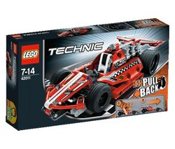 "LEGO Technic - Race Car - 42011 (Lego Technic 5702014975620) ""The super-fast, super-sleek, super-cool Race Car is the perfect introduction to the exciting world o..."
