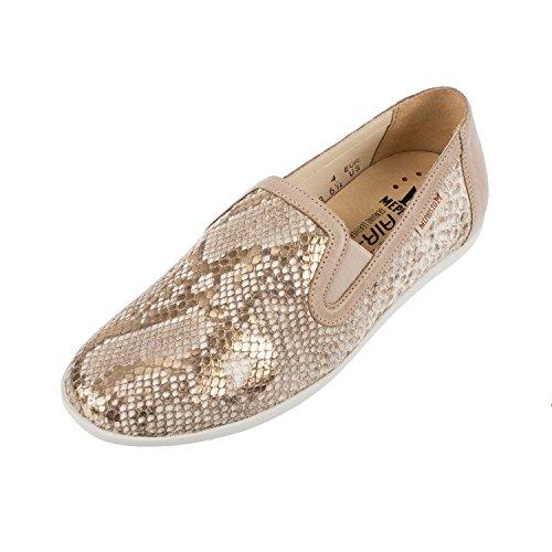 Mephisto da donna Khali Boa/Steve in pelle Slip On scarpe mocassino (k2252), oro (Gold), 42