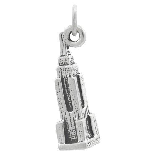 ciondolo-thecharmworks-in-argento-sterling-a-forma-di-empire-state-building