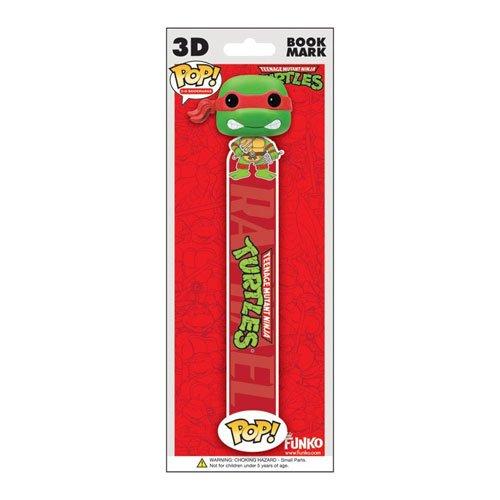 Funko POP! 3D Bookmark - TMNT - RAPHAEL (Red) - 1