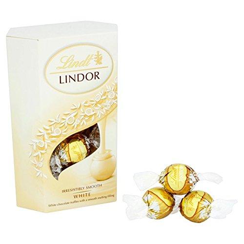 Lindt Lindor 200g de chocolat blanc