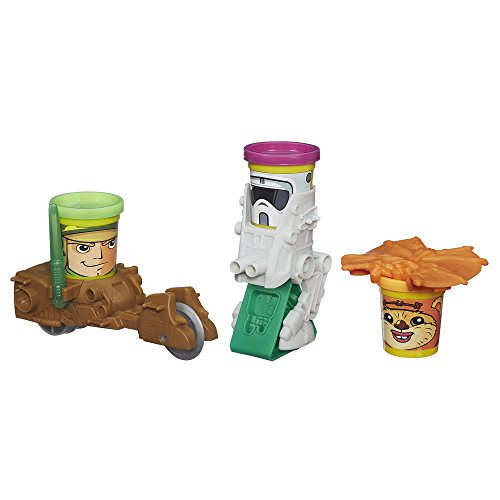Play Doh Star Wars Mission on Endor Featuring Can Heads
