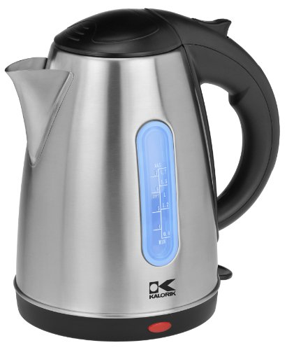 Kalorik Cordless 360° Jug Kettle, Stainless Steel (Electric Jug compare prices)