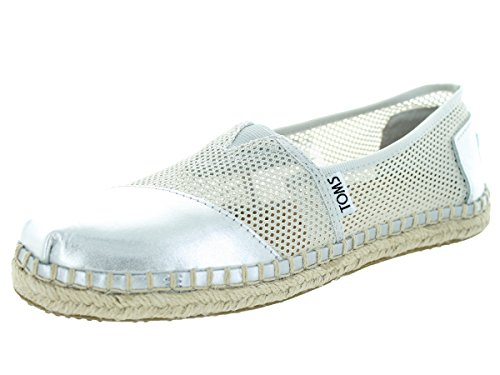 Toms Women's Classic Silver Casual Shoe 10 Women US (Classic Toms compare prices)
