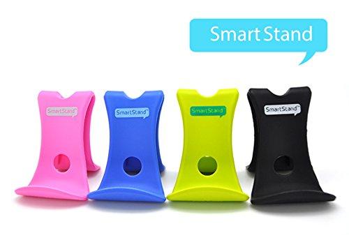 Antirutsch Handy Smartphone Tablet Tisch Bett für iPhone6 PSP Handyhalterung Gummi Halter Holder Halterung Ständer Smartstand (blau)