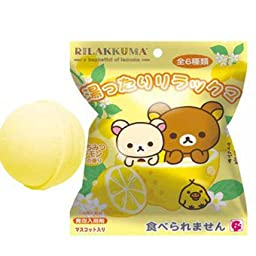 San-x Rilakkuma Bath Bomb Honey Lemon Scent