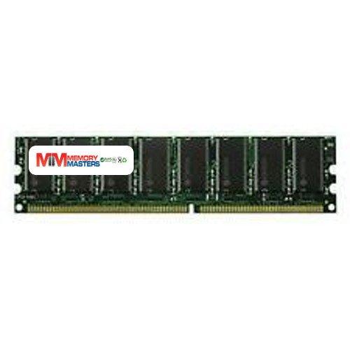 MemoryMasters KVR400X64C3A/1G Equivalent PC3200 Dual Rank Unbuffered 1GB DDR400 ECC 2Rx8 UDIMM (Tamaño: 1 Gb)