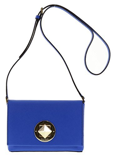 Kate Spade New York Newbury Lane Sally Crossbody Purse in Orbit Blue (495) (New York In A Bag compare prices)