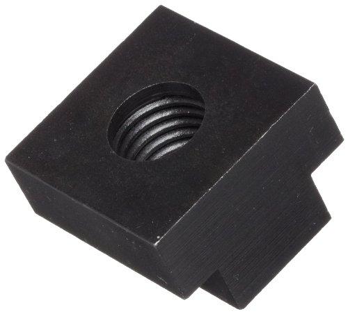 Steel T-Slot Nut, Black Oxide Finish, Grade 2, Right Hand Threads, Class 2B 3/4