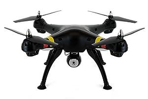 Syma X8C Venture with 2MP Wide Angle Camera 2.4G 4CH RC Quadcopter - Black