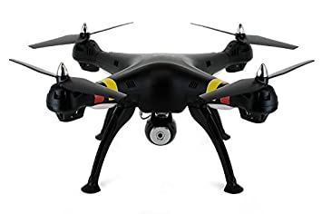 Syma X8C Venture with 2MP Wide Angle Camera 2.4G 4CH RC Quadcopter - Black by Syma