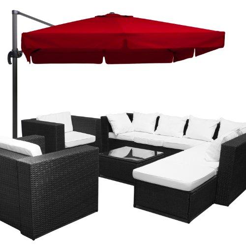 Produkt Bild Xinro Xxxl Polyrattan 26tlg Lounge Set
