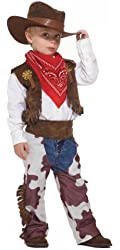 Childs Western Country Cowboy Halloween Costume Small 4-6