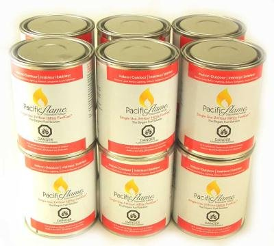 12-PACK-Pacific-Flame-15oz-Firepot-Fuel-Cans-Regular-Pacific-Decor
